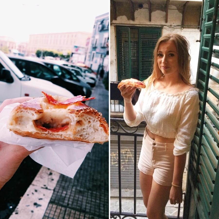 Jedzenie w Palermo, pizza i nie tylko