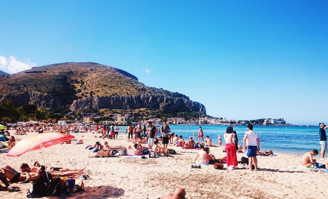 Mondello in Sicily