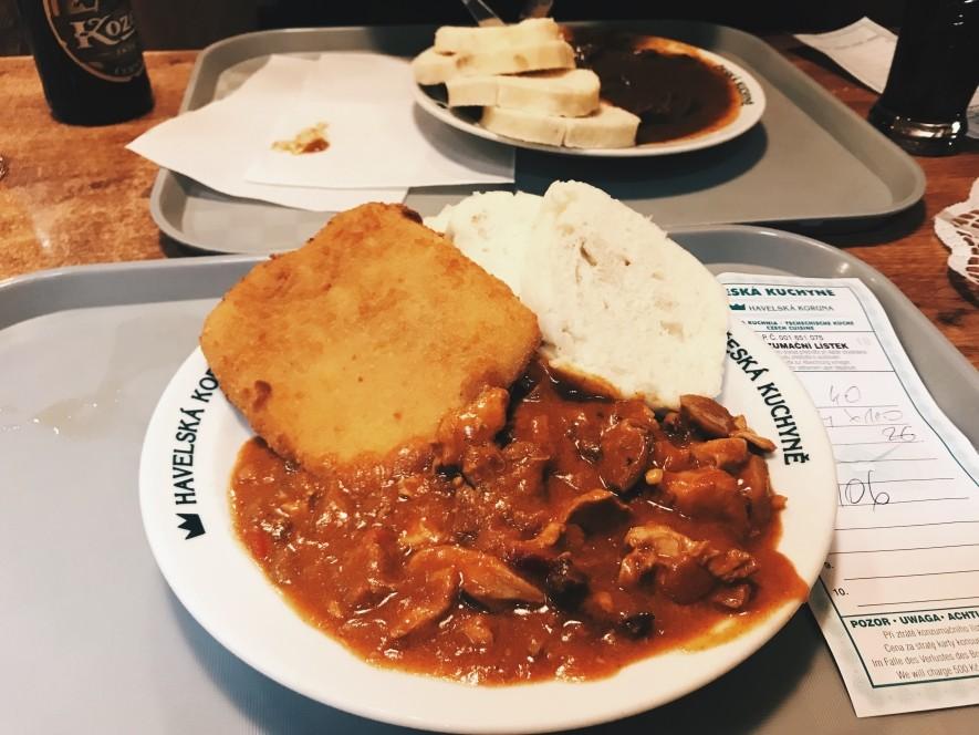 Havelska Koruna - tanie jedzenie w centrum Pragi