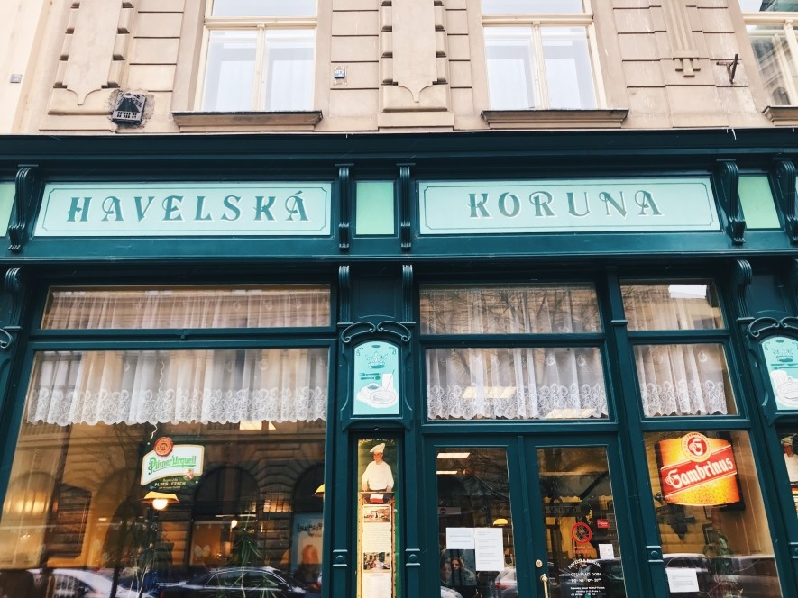 Havelská Koruna - restaurant with local food in Prague