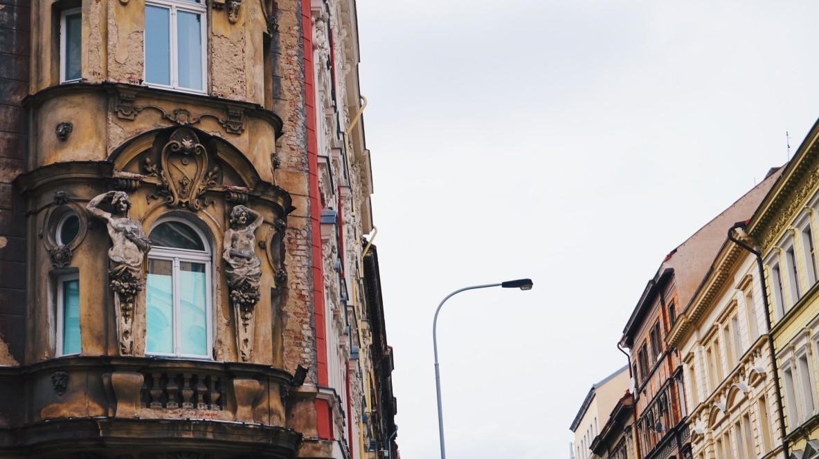 Dzielnica Žižkov w Pradze - piękne kamienice