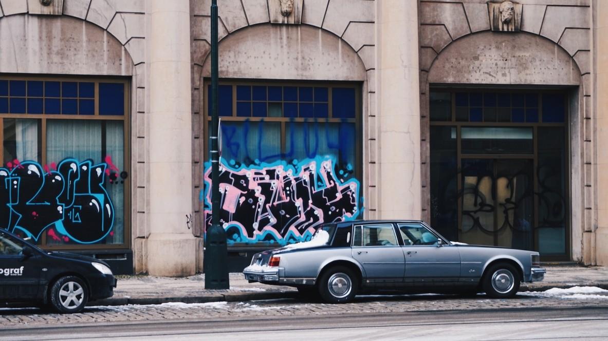 Street-art w Pradze