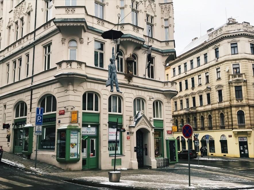 Kamienic w Pradze