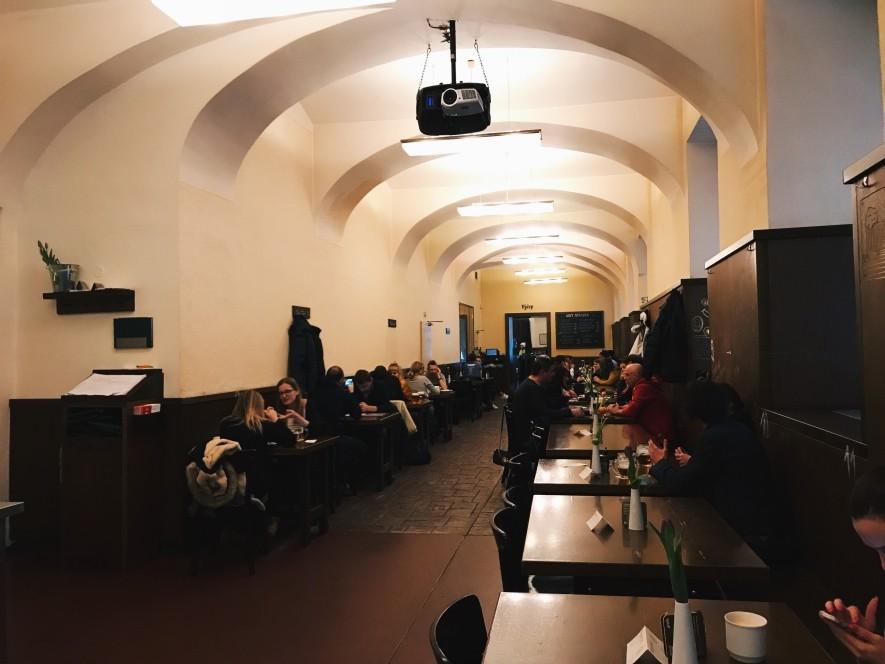 Lokal w Pradze - fajne miejsce na obiad i piwo