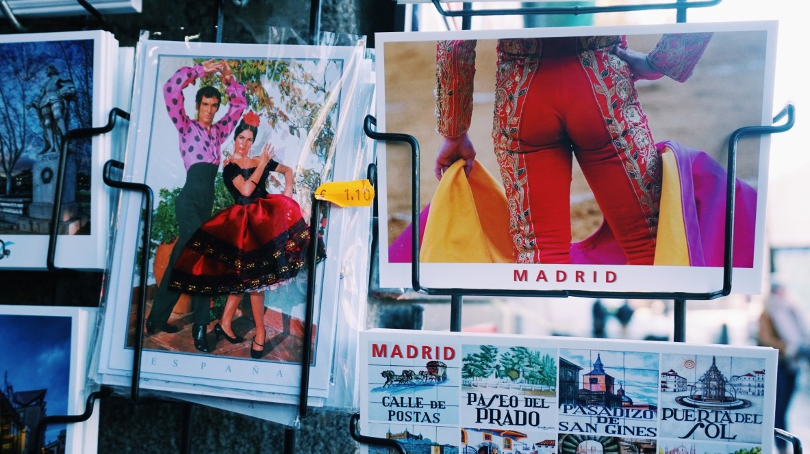 Another postcards from Madrid