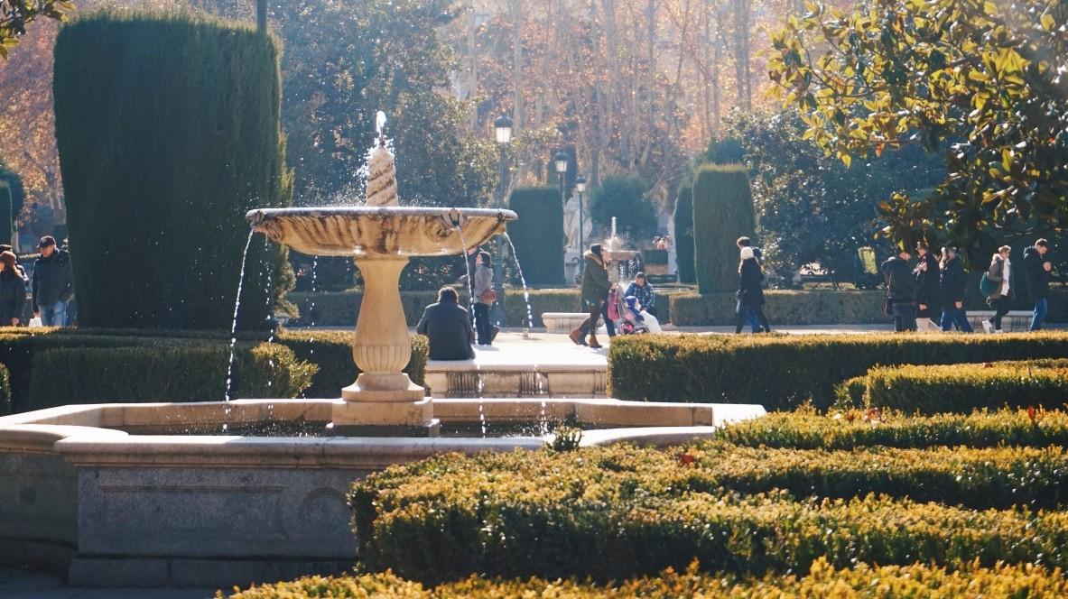 Ogrody w Madrycie