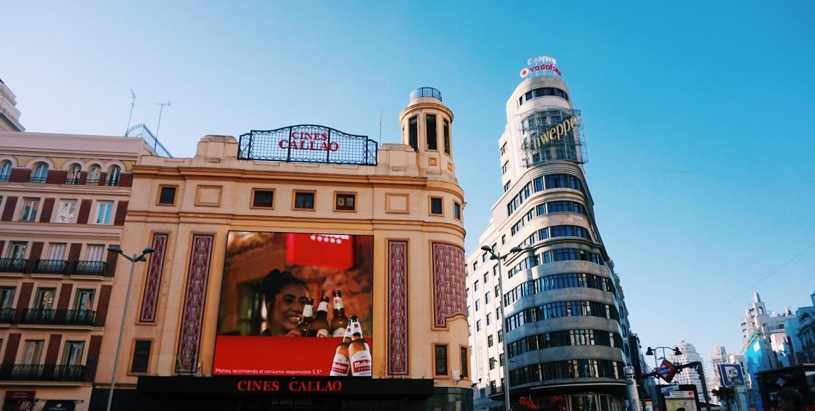 Madryt Callao - centru miasta