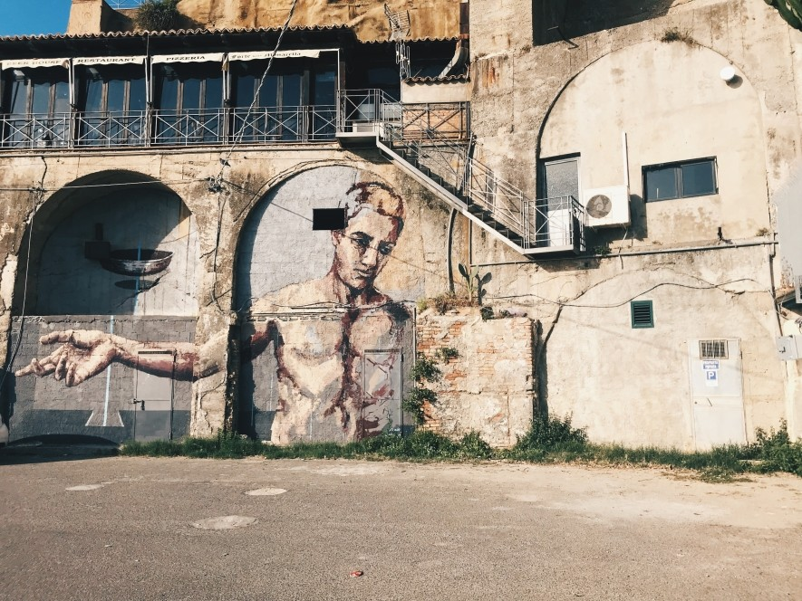 Street-art in Italy - Pizza Calabro