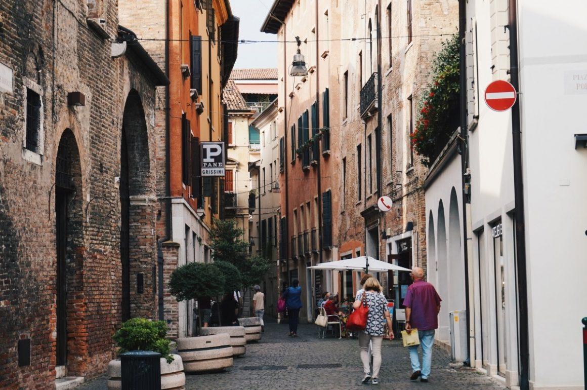 Piękne Treviso obok Wenecji