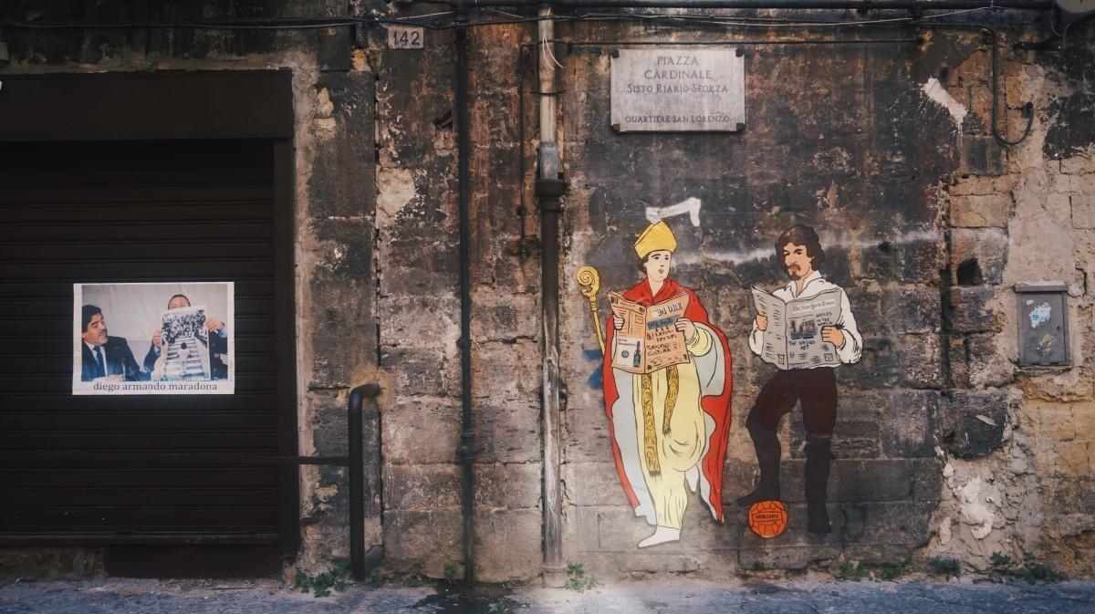 Street-art w Neapolu