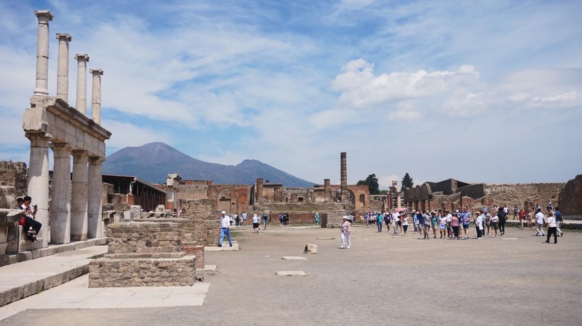 Historyczne Pompeje we Włoszech