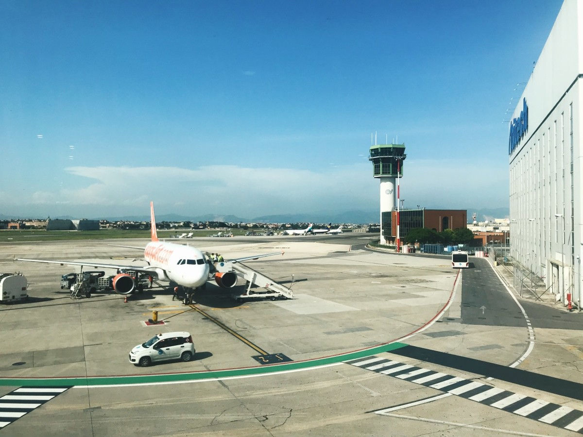 Airport in Naples