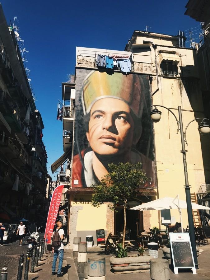 Street-art na ulicach Neapolu