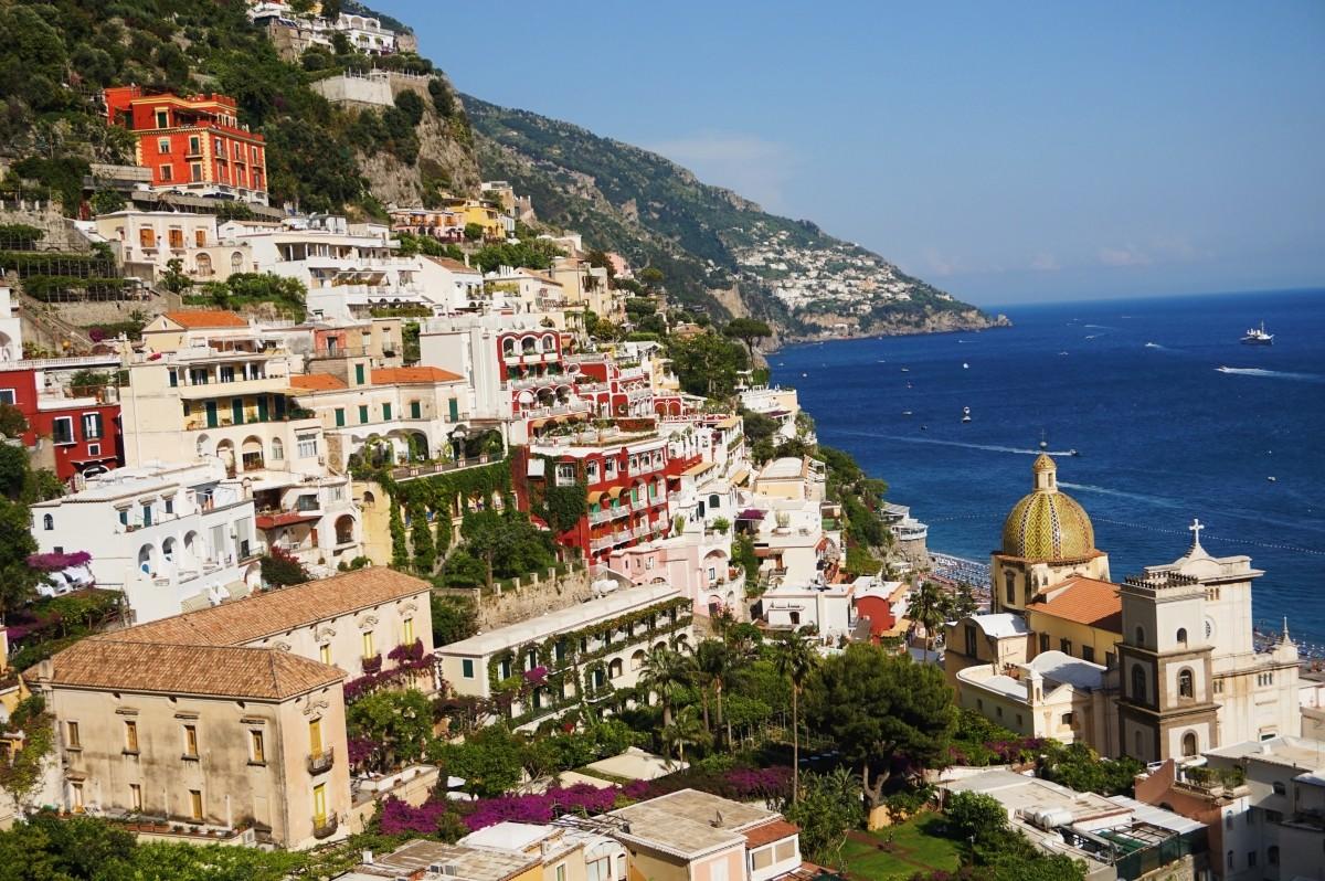 Positano - jedno z najpiękniejszych miejsc we Włoszech