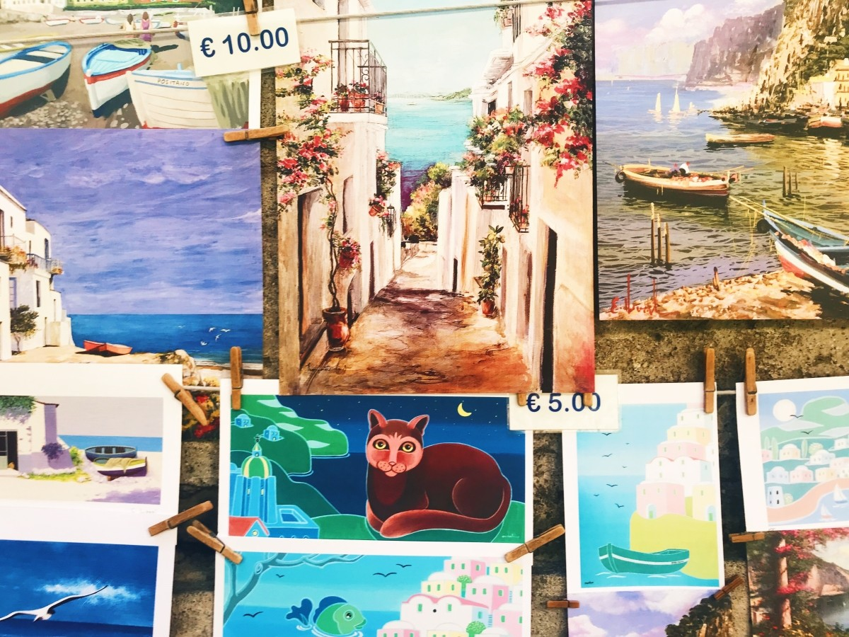 Przepiękne obrazy w Positano