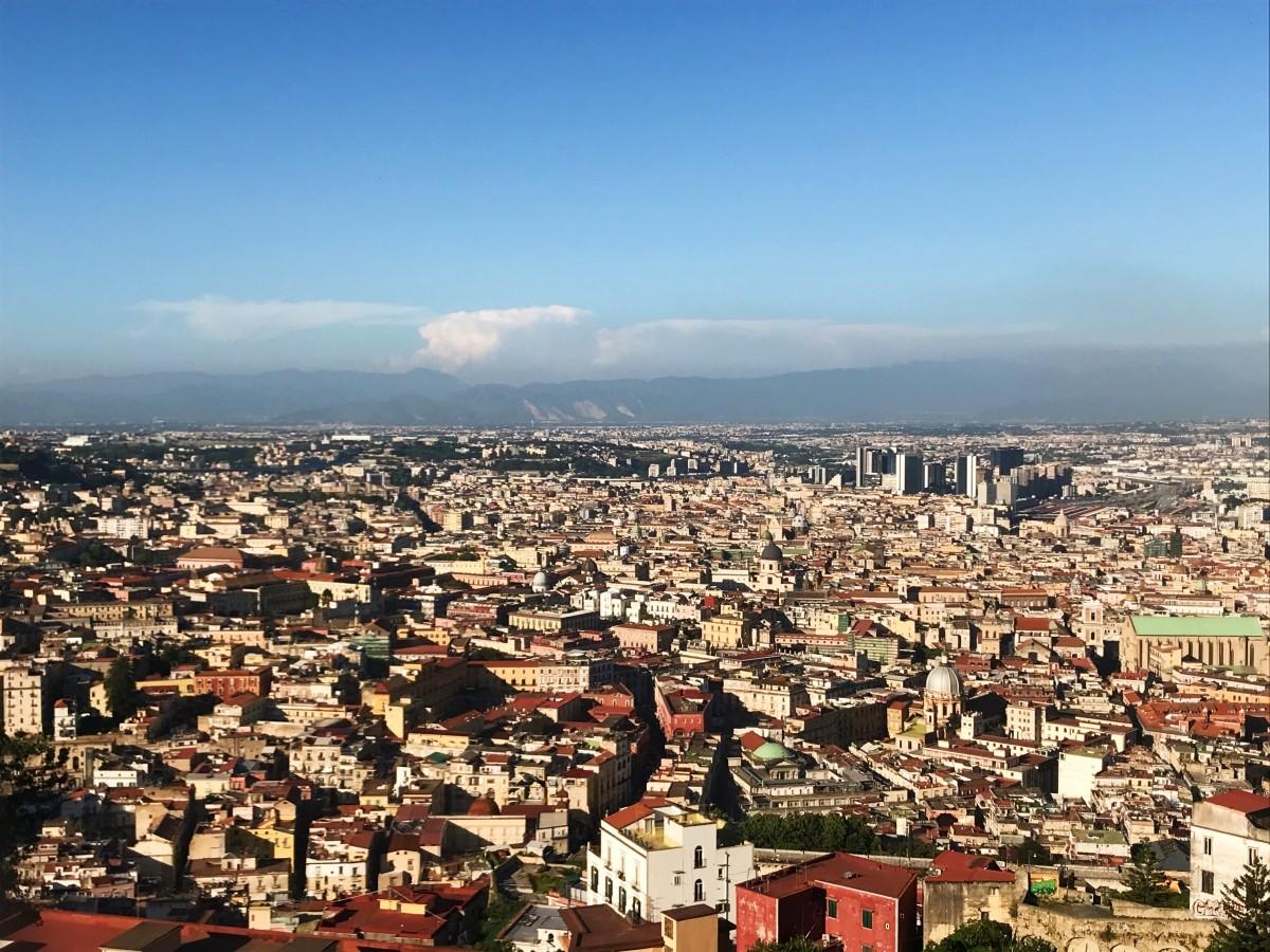 Wzgórze Vomero w Neapolu