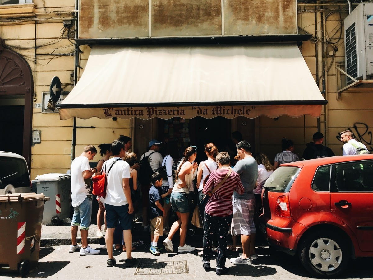 L'antica Pizzeria da Michele in Naples