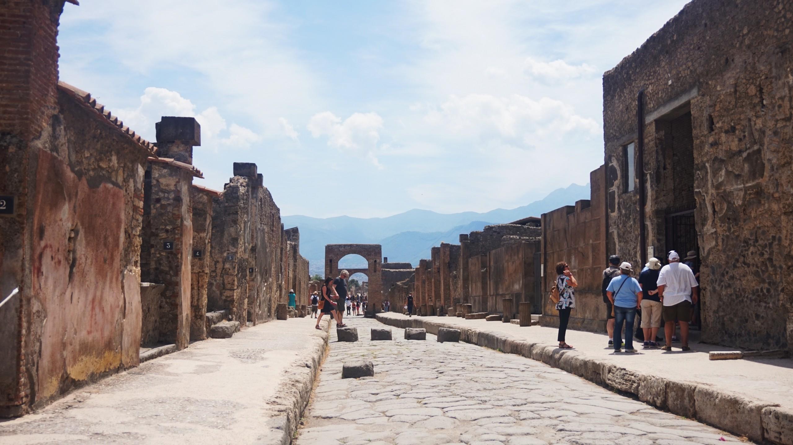 Pompeii in Italy