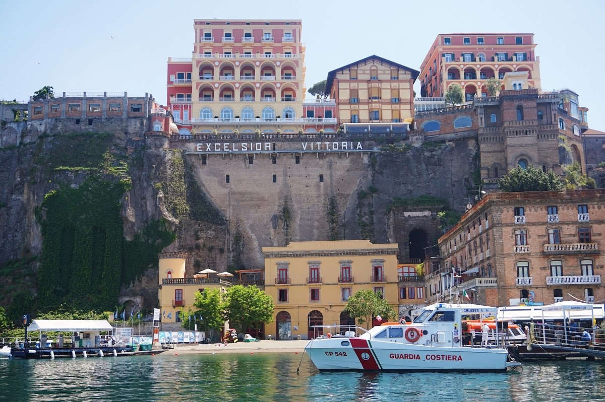 Beautiful Sorrento in Italy