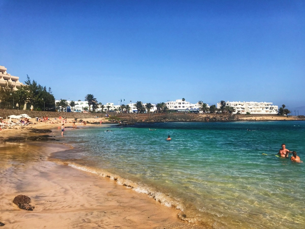 Plaże na Costa Teguise