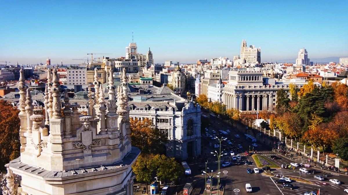 Jeden z najpiękniejszych widoków na Madryt