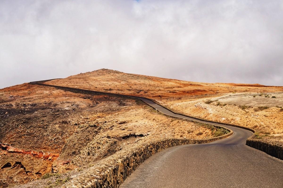 Krajobraz na Lanzarote