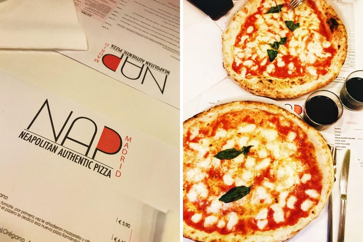 Pizza neapolitańska w Madrycie - NAP