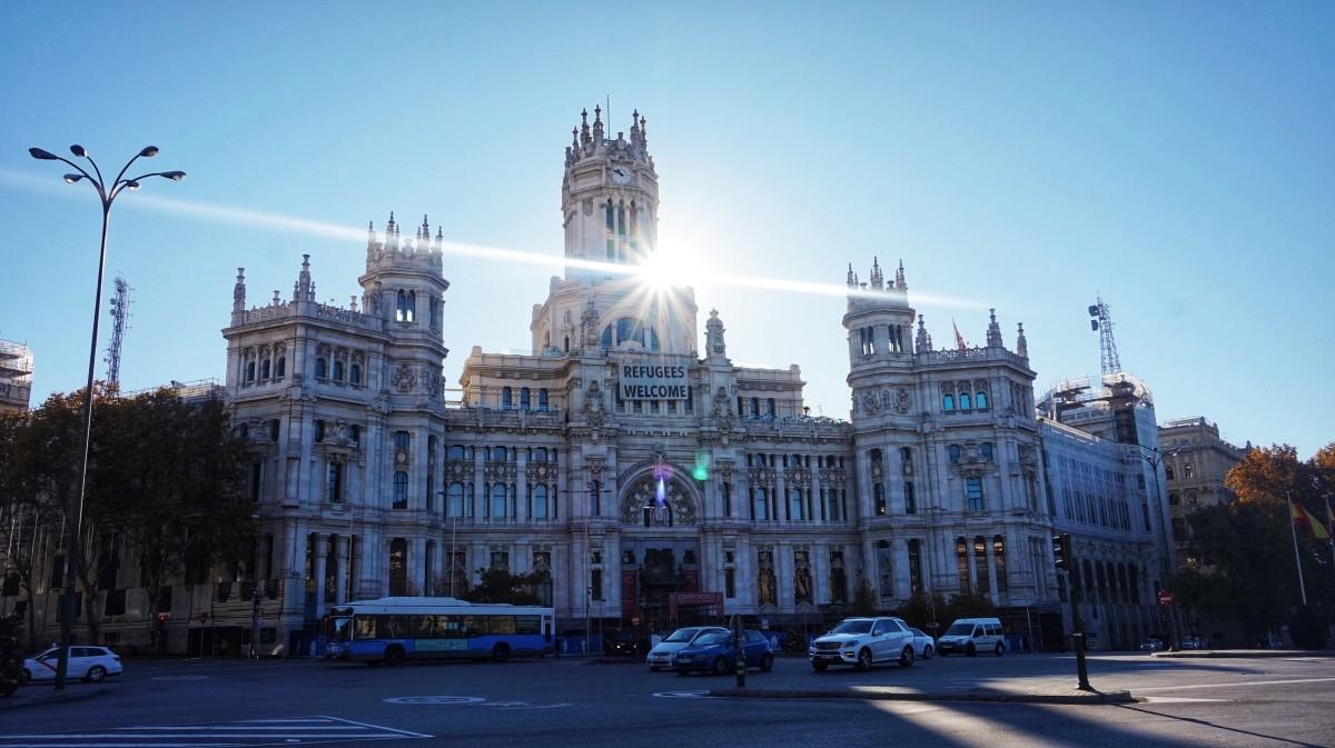 Plaza de Cibeles w Madrycie
