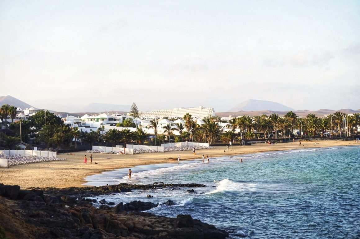 Widok na Costa Teguise - Lanzarote