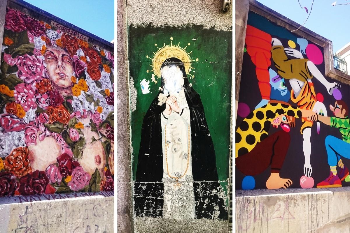 Street-art w Madrycie