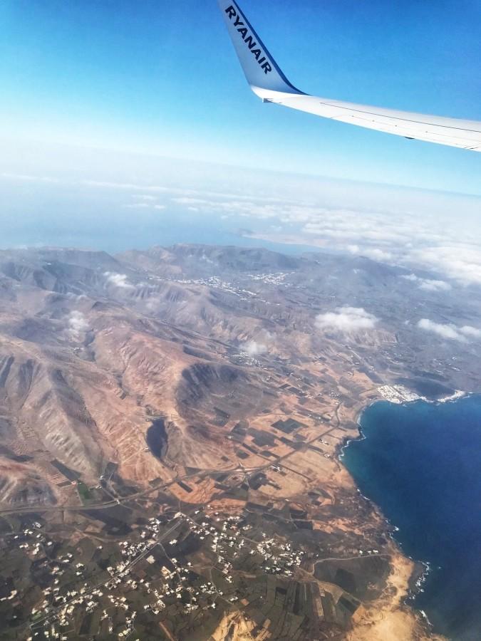 lądowanie na Lanzarote