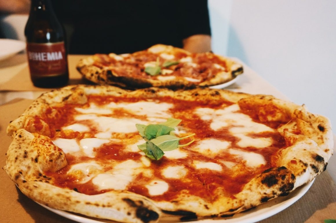 The true Neapolitan pizza