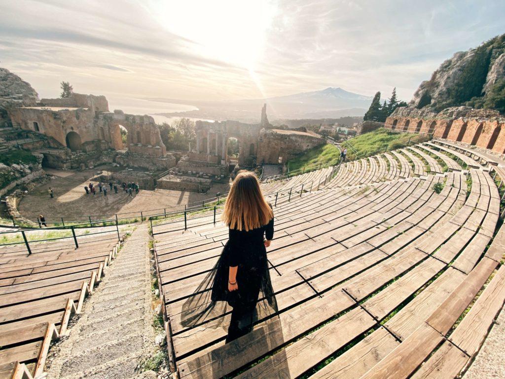 Teatro Antico w Taorminie